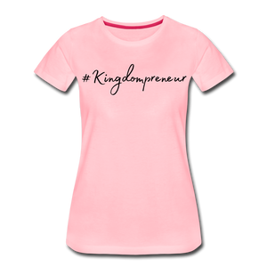 Kingdompreneur Women's T-Shirt - pink