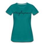 Load image into Gallery viewer, Kingdompreneur Women's T-Shirt - teal