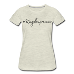 Load image into Gallery viewer, Kingdompreneur Women's T-Shirt - heather oatmeal