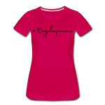 Load image into Gallery viewer, Kingdompreneur Women's T-Shirt - dark pink