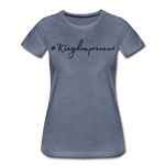 Load image into Gallery viewer, Kingdompreneur Women's T-Shirt - heather blue