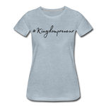 Load image into Gallery viewer, Kingdompreneur Women's T-Shirt - heather ice blue
