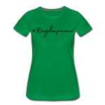 Load image into Gallery viewer, Kingdompreneur Women's T-Shirt - kelly green