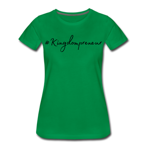 Kingdompreneur Women's T-Shirt - kelly green