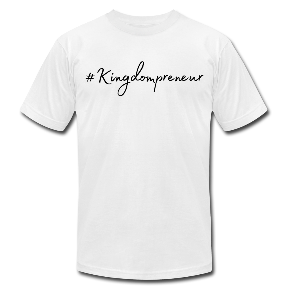 Kingdompreneur Unisex T-Shirt - white