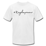 Load image into Gallery viewer, Kingdompreneur Unisex T-Shirt - white