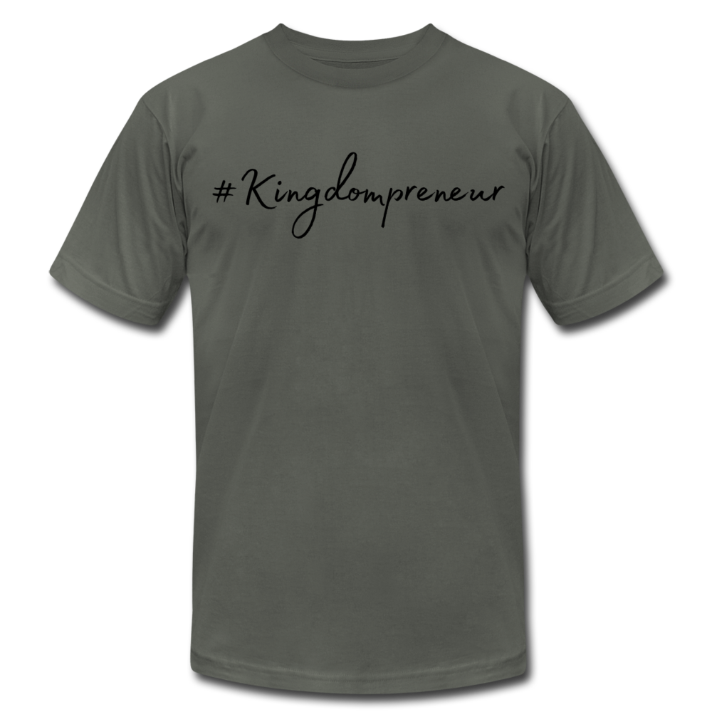 Kingdompreneur Unisex T-Shirt - asphalt