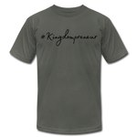 Load image into Gallery viewer, Kingdompreneur Unisex T-Shirt - asphalt