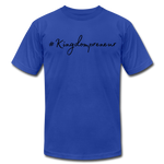 Load image into Gallery viewer, Kingdompreneur Unisex T-Shirt - royal blue