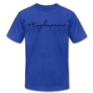 Kingdompreneur Unisex T-Shirt - royal blue