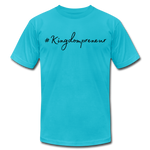 Load image into Gallery viewer, Kingdompreneur Unisex T-Shirt - turquoise