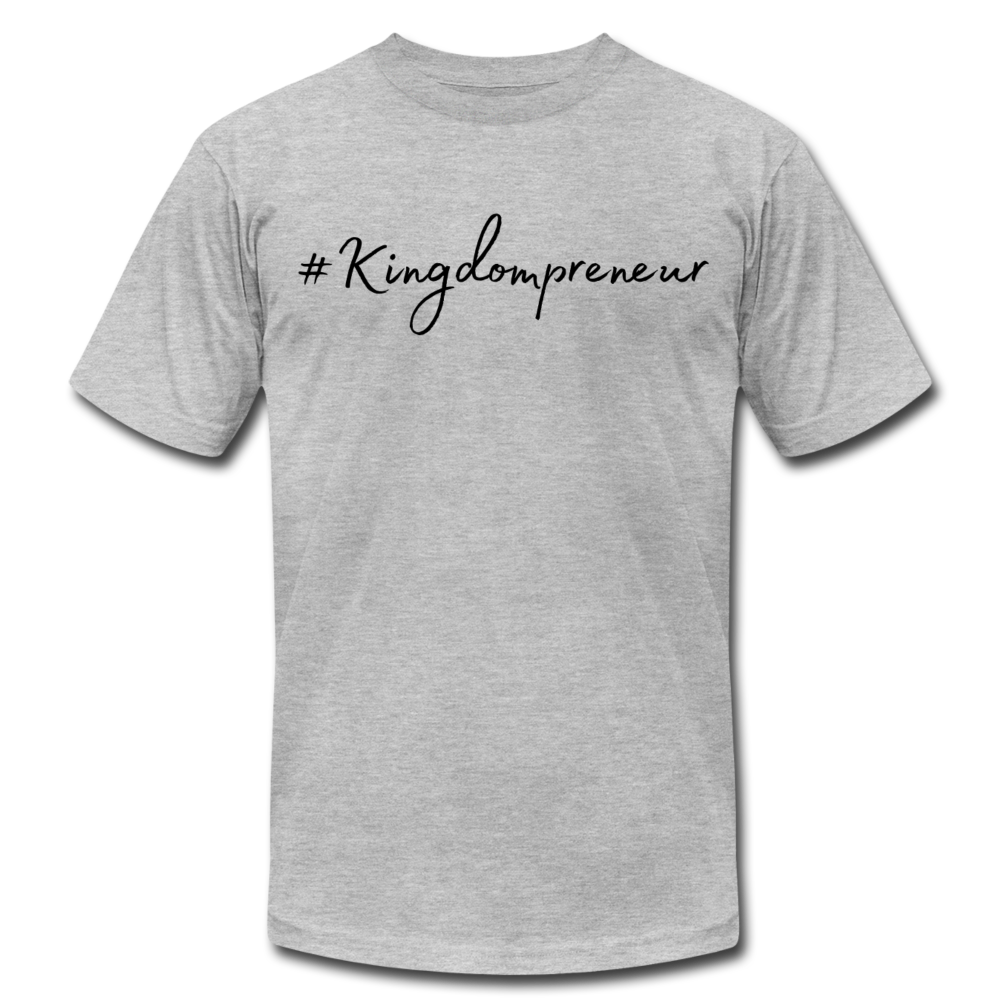 Kingdompreneur Unisex T-Shirt - heather gray