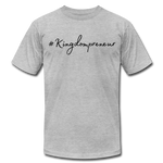 Load image into Gallery viewer, Kingdompreneur Unisex T-Shirt - heather gray