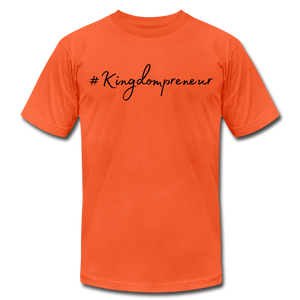 Kingdompreneur Unisex T-Shirt - orange