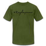 Load image into Gallery viewer, Kingdompreneur Unisex T-Shirt - olive