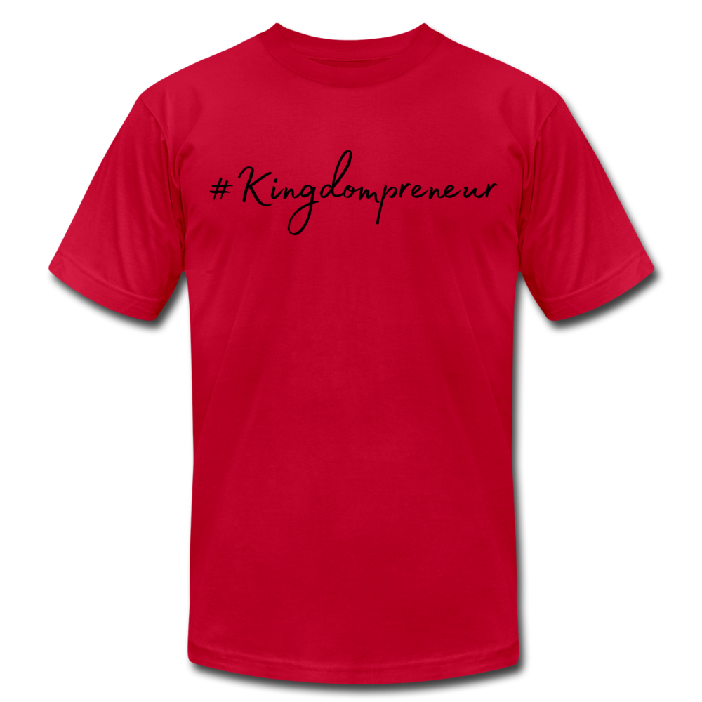 Kingdompreneur Unisex T-Shirt - red