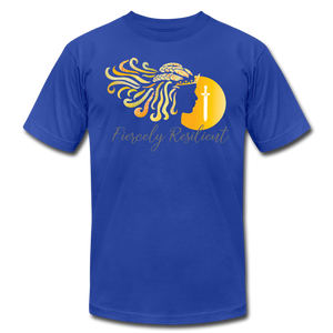 Fiercely Resilient Brand T-Shirt - royal blue