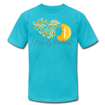 Load image into Gallery viewer, Fiercely Resilient Brand T-Shirt - turquoise