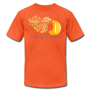 Fiercely Resilient Brand T-Shirt - orange