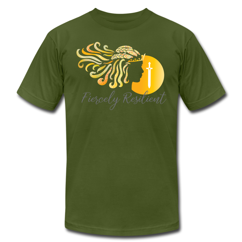 Fiercely Resilient Brand T-Shirt - olive