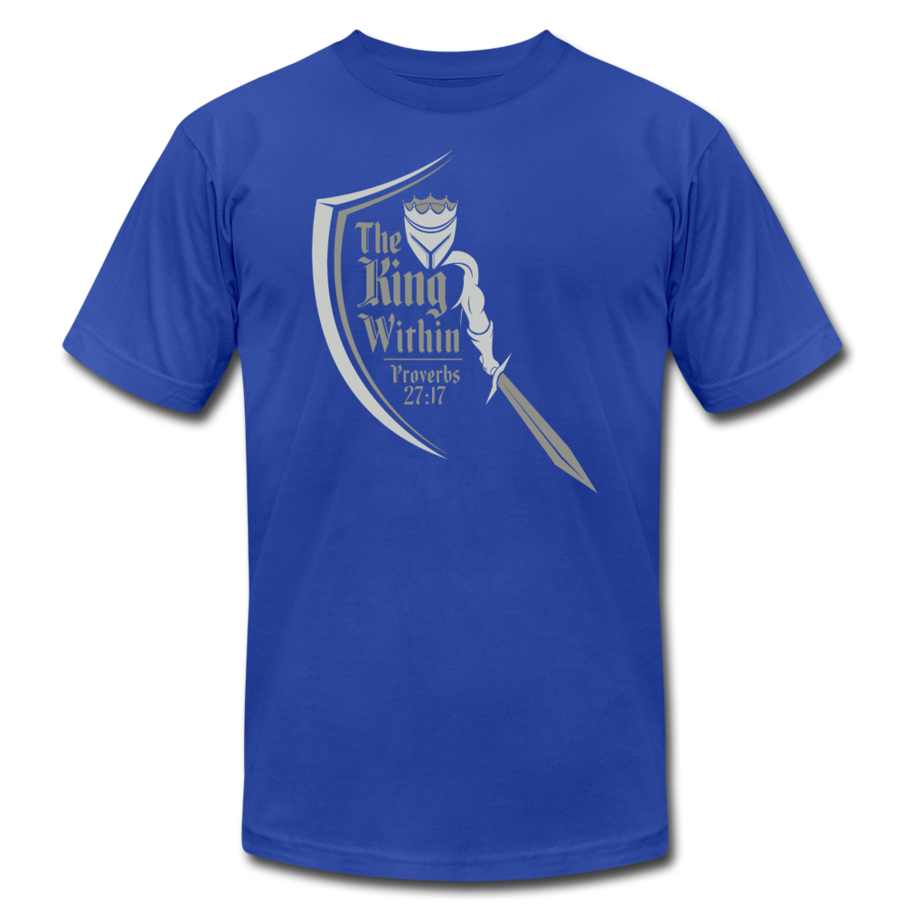 King Within Brand Unisex T-Shirt - royal blue