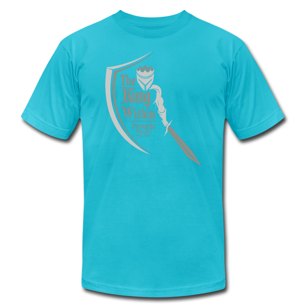 King Within Brand Unisex T-Shirt - turquoise