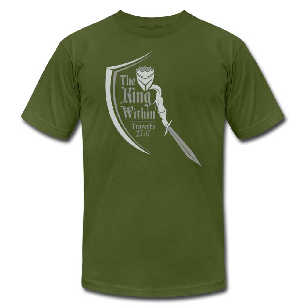 King Within Brand Unisex T-Shirt - olive