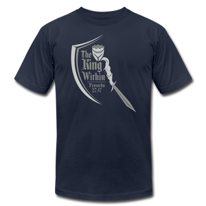 King Within Brand Unisex T-Shirt - navy