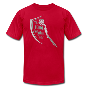 King Within Brand Unisex T-Shirt - red