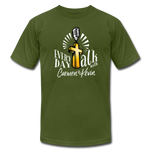 Load image into Gallery viewer, Everyday Talk Brand T-Shirt - olive