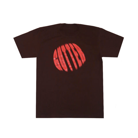 DISTORTED TEE BROWN
