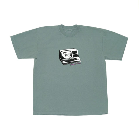VIRTUAL LOVE TEE ATLANTIC GREEN