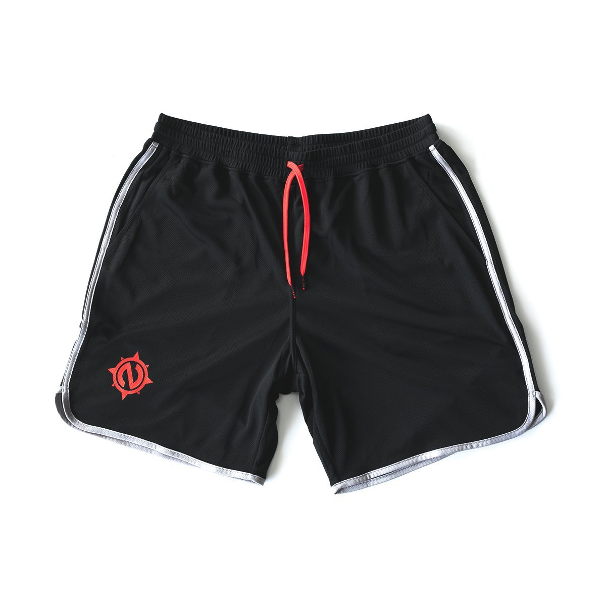 Gym Trunks - Gym Trunks - Black/Gray