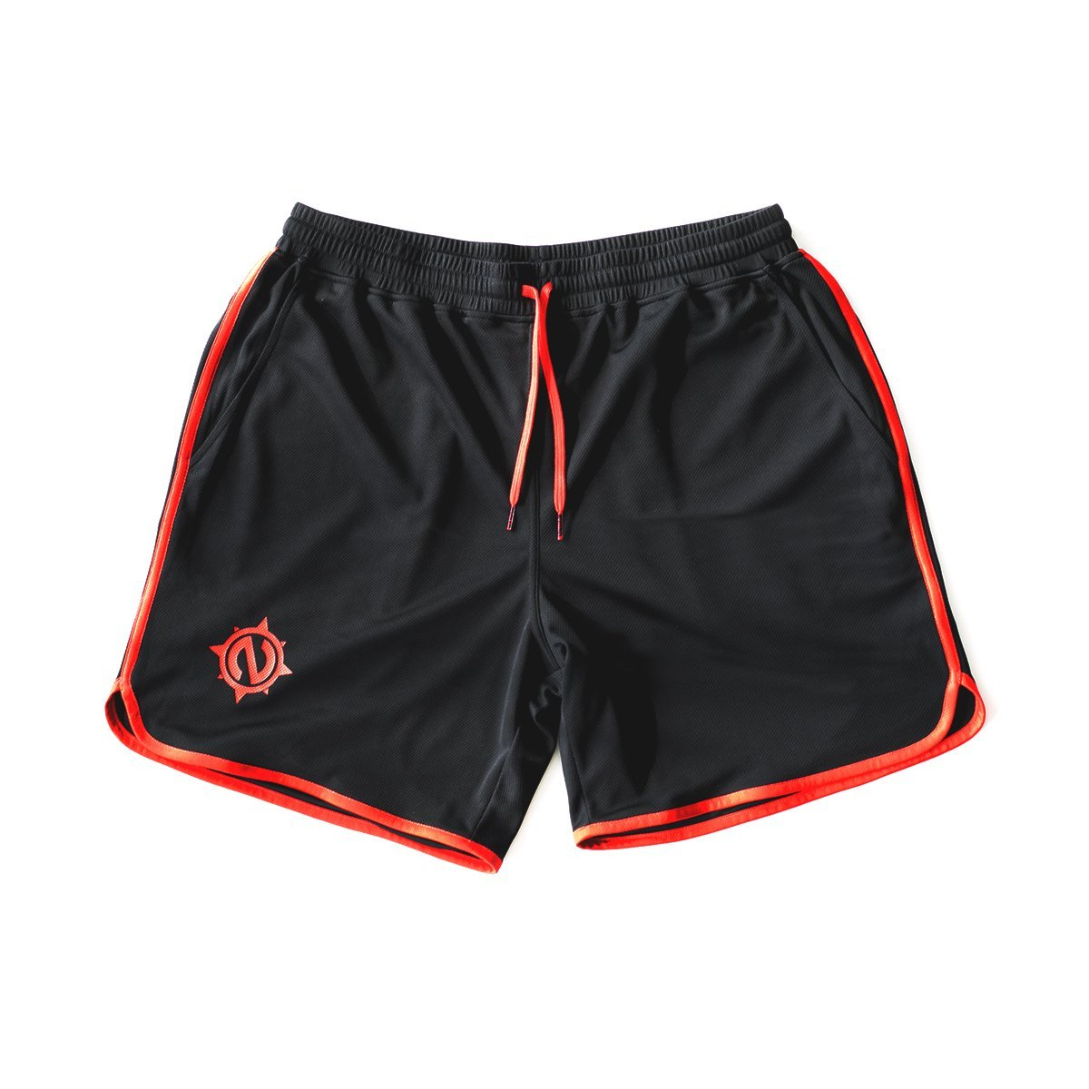 Gym Trunks - Gym Trunks - Black/Red