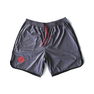 Gym Trunks - Gym Trunks - Gray/Black