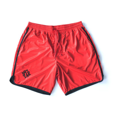 Gym Trunks - Gym Trunks - Red/Black