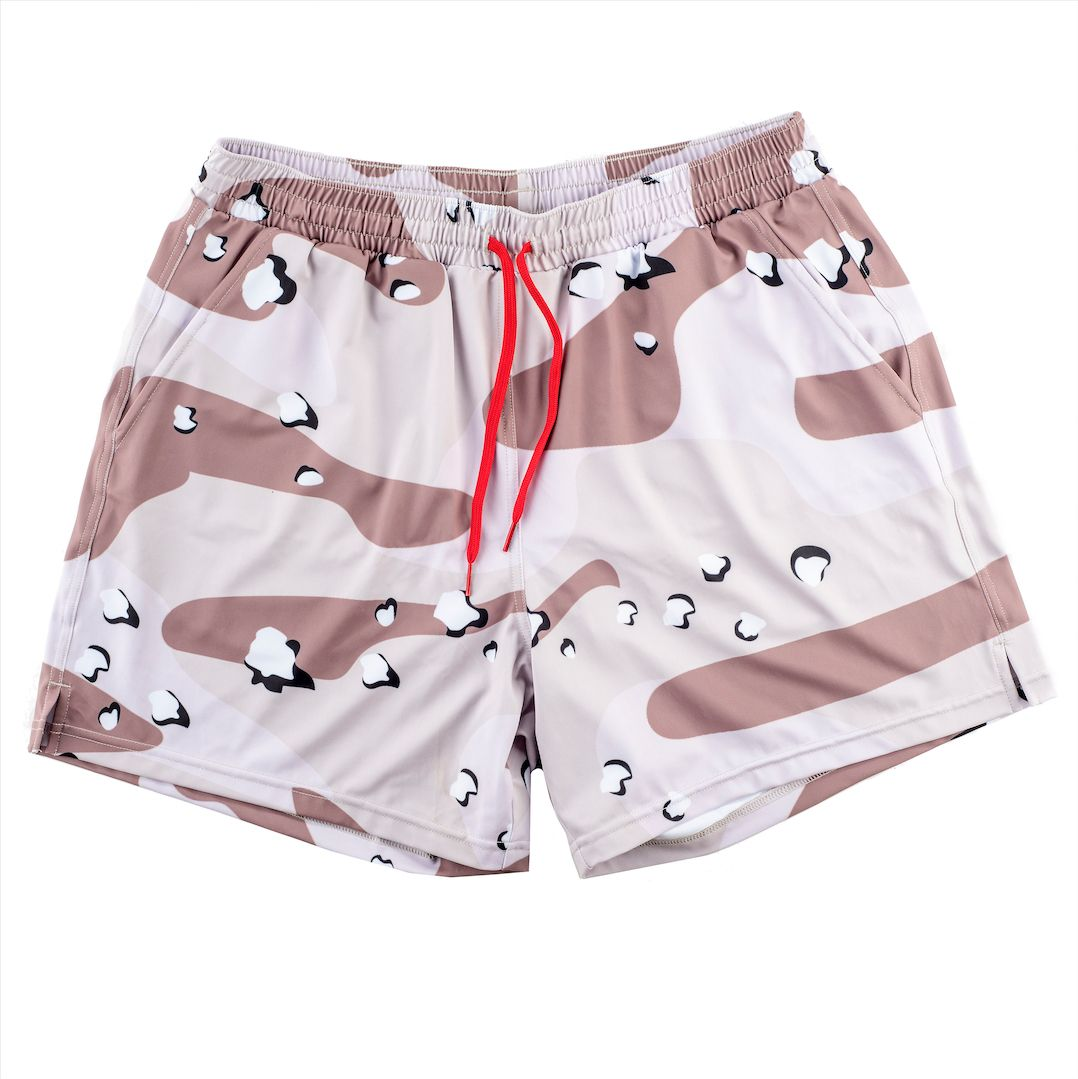 Swim Trunks - Chocolate Chip Desert Camo
