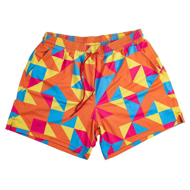 Swim Trunks - Geometric