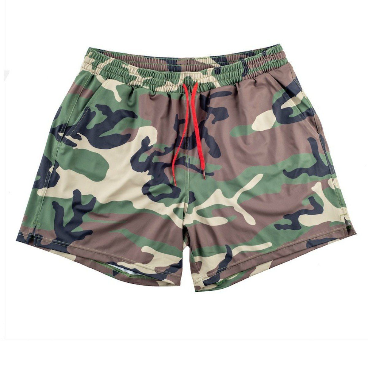 Swim Trunks - Tri-Color Woodland