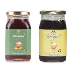 Combo - Buy Tulsi & Ginger - Immunity couple: Save 300 - honeybasket