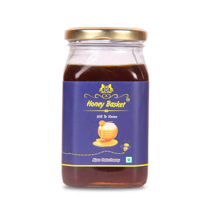Buy ajwa dates infused raw honey Honey Honeybasket
