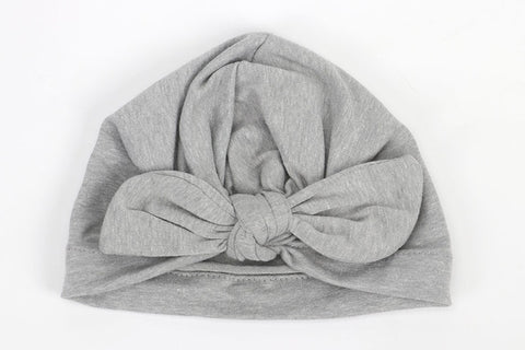 Knot Turban - Grey