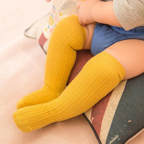Knee High Socks - Mustard