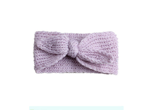 Knit Headband - Lavender