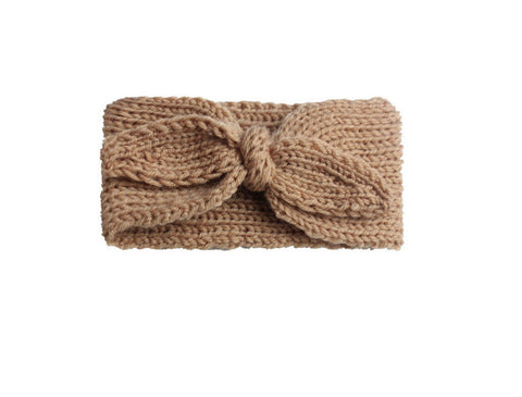Knit Headband - Tan