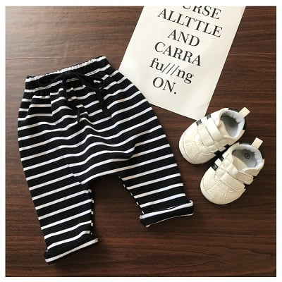 Stripe Harems - Black