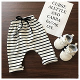 Stripe Harems - White