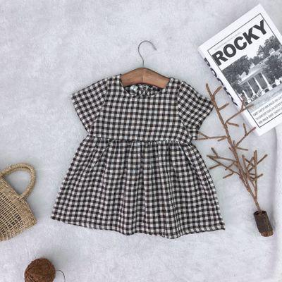 Kenzie Plaid Dress - Black