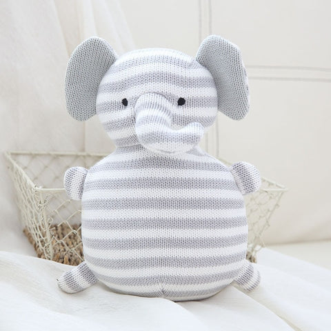 Knit Teddy - Elephant