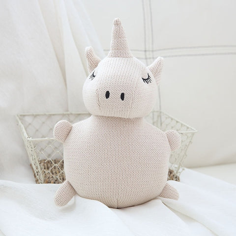 Knit Teddy - Unicorn